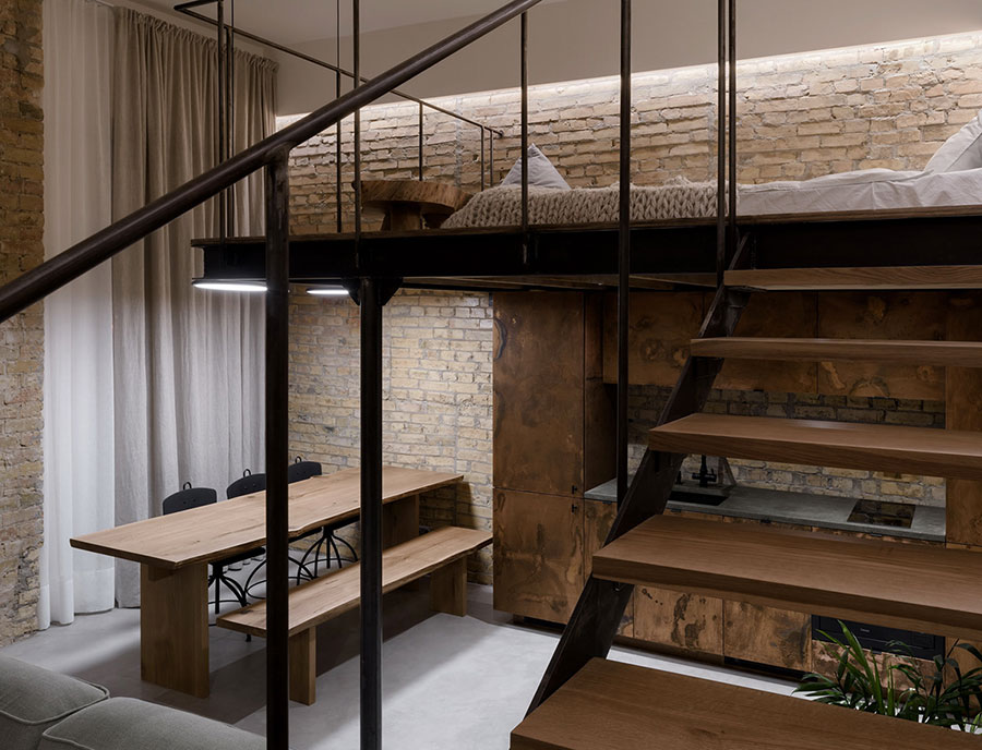 Idea per arredare un loft open space n.34