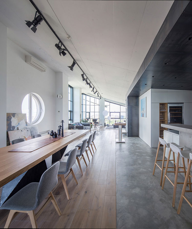 Idea per arredare un loft open space n.36