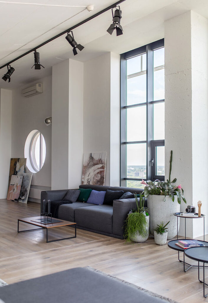 Idea per arredare un loft open space n.37