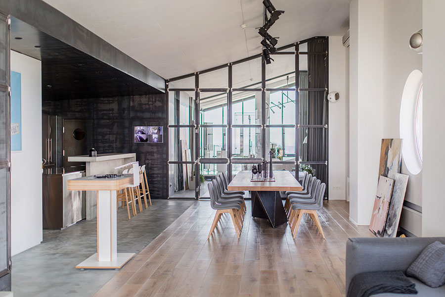 Idea per arredare un loft open space n.38
