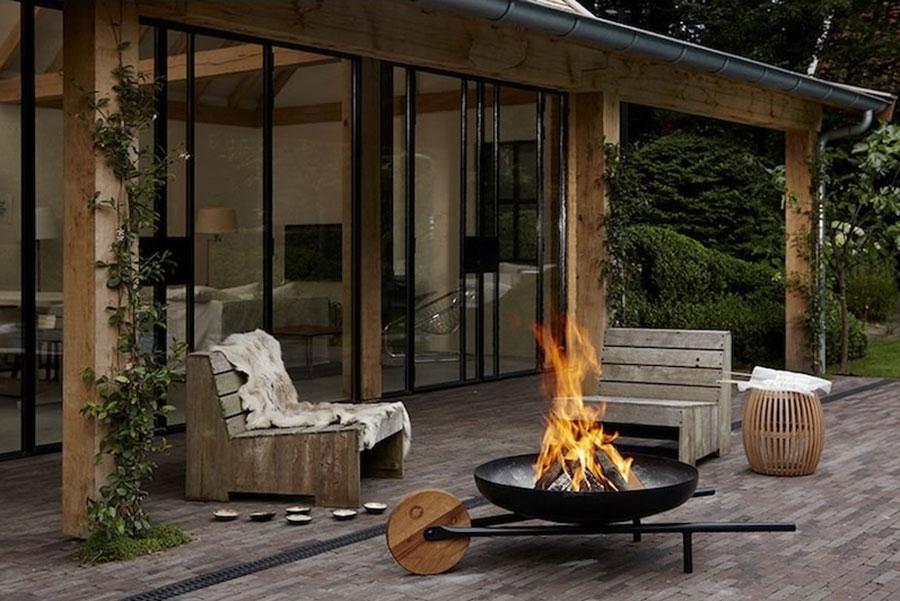 Modello di barbecue dal design moderno n.11