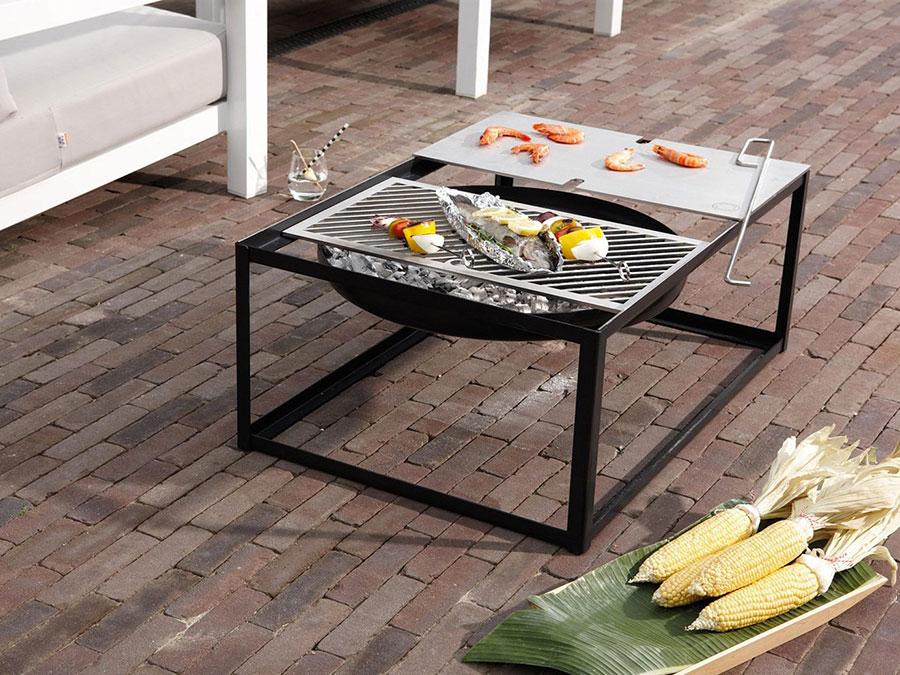Modello di barbecue dal design moderno n.12