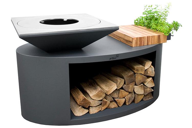Modello di barbecue dal design moderno n.22