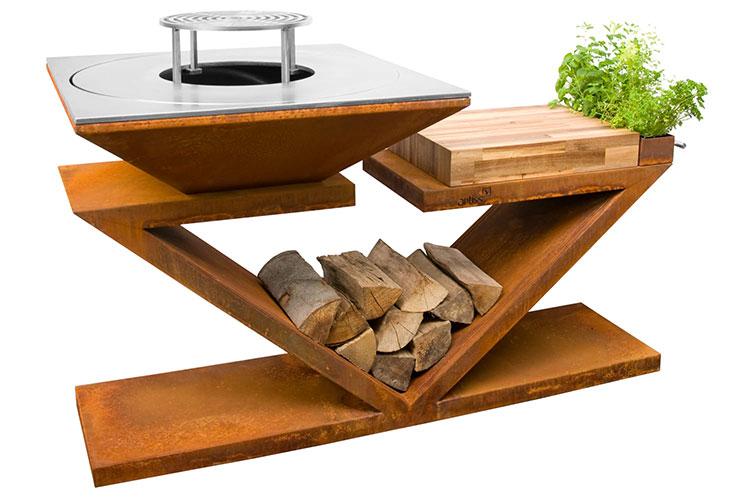 Modello di barbecue dal design moderno n.24