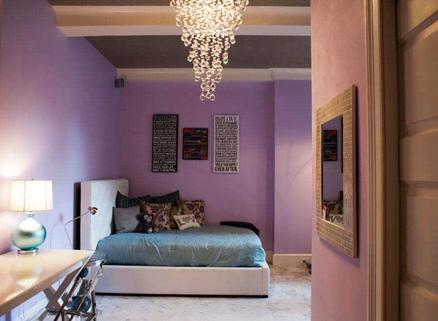Pareti camera da letto colore lavanda 02