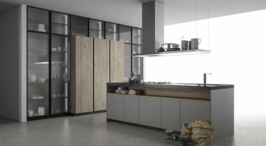 Alluminio tra i materiali di tendenza per cucine 2020