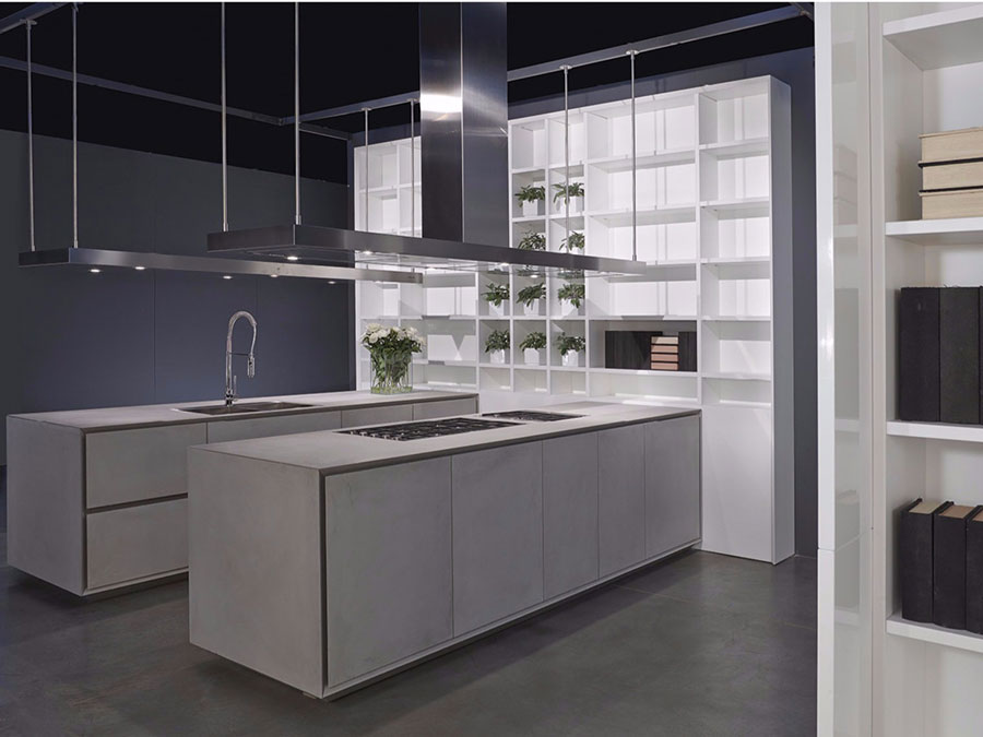 Cucina colore grigio di tendenza per il 2020