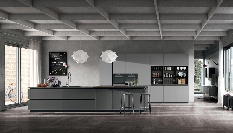 Cucina 2020 dalla tendenza elegante n.02