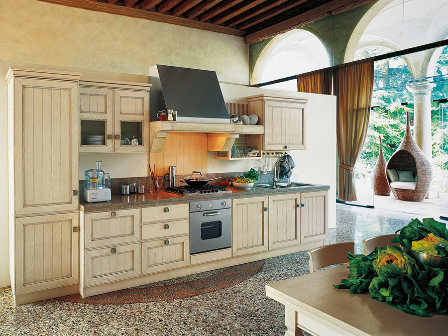 Modello di cucina classica avorio decapè n.03