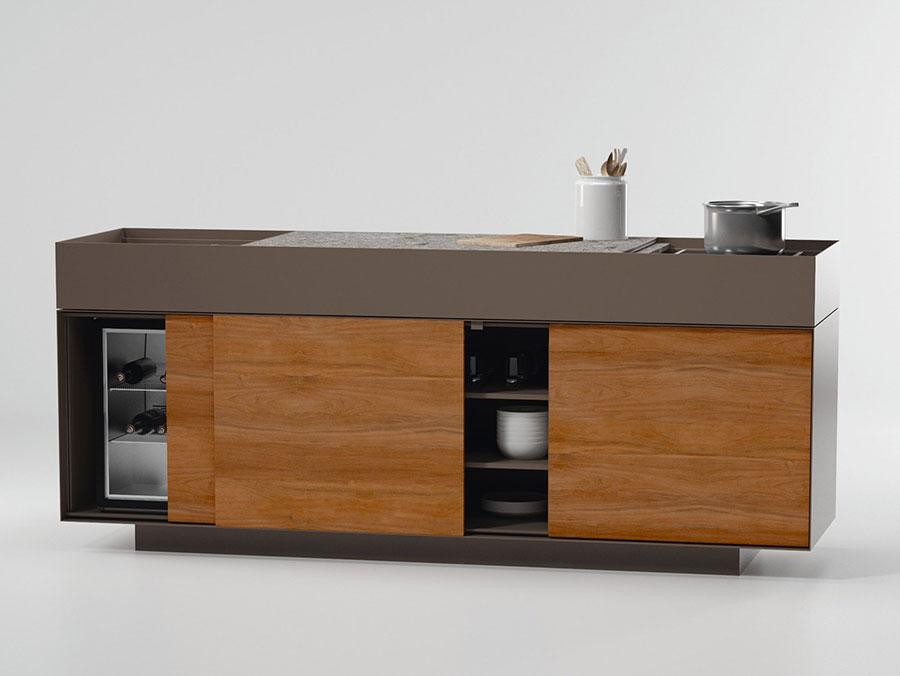 Cucina da esterno dal design moderno e funzionale n.21