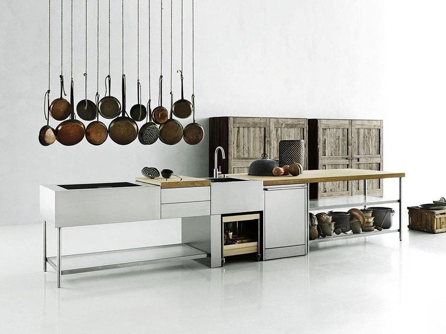 Cucina da esterno dal design moderno e funzionale n.26