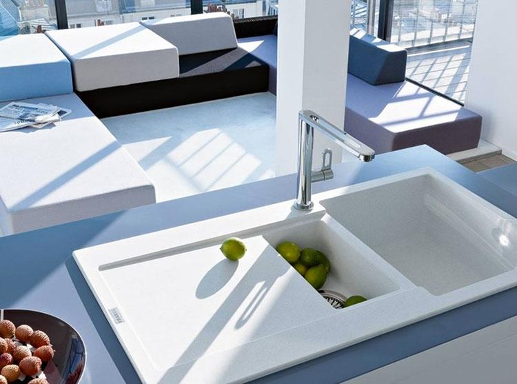 Modello di lavello da cucina in fragranite 03