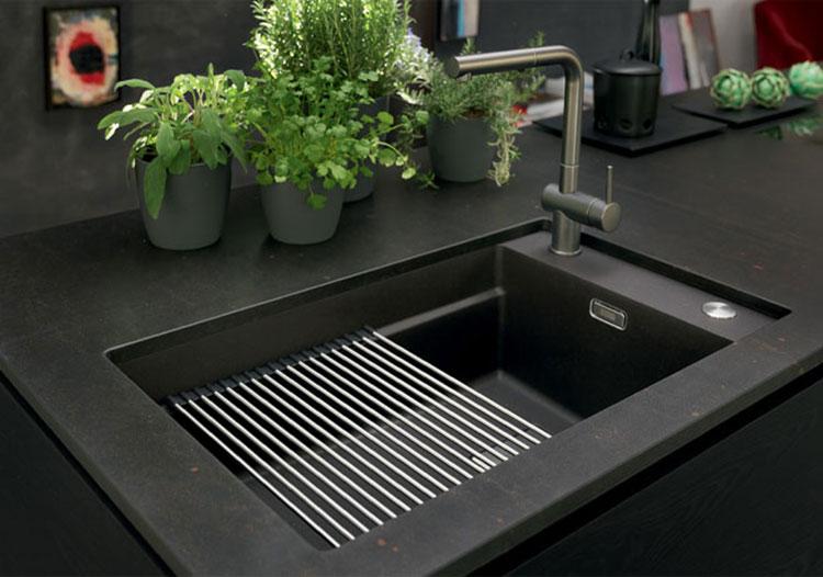 Modello di lavello da cucina in fragranite 04