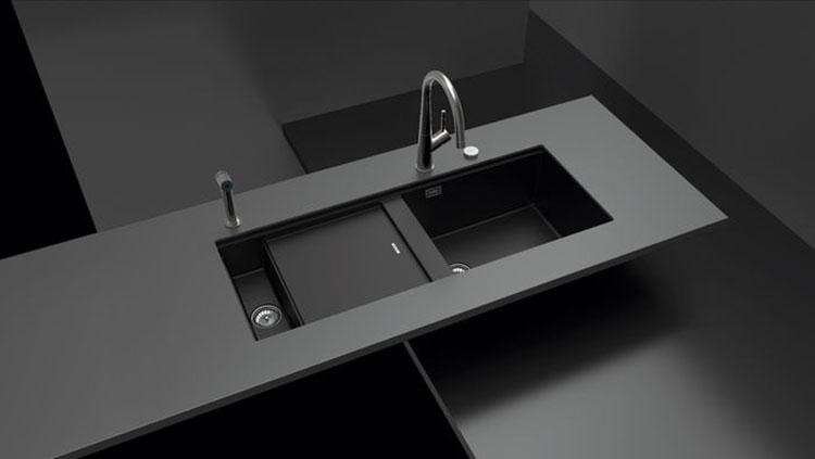 Modello di lavello da cucina in fragranite 07