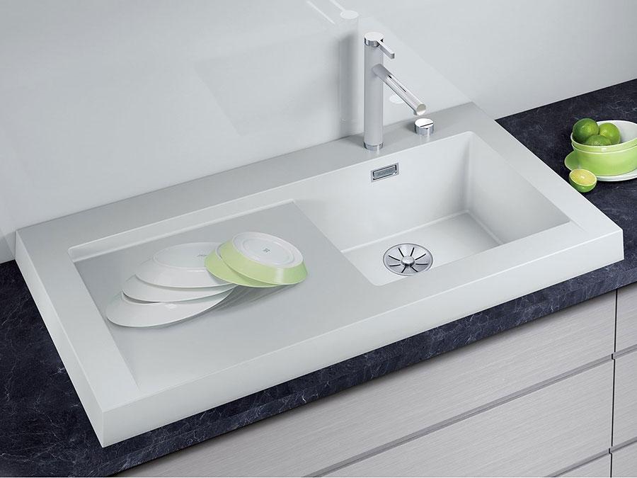 Modello di lavello da cucina in fragranite 08