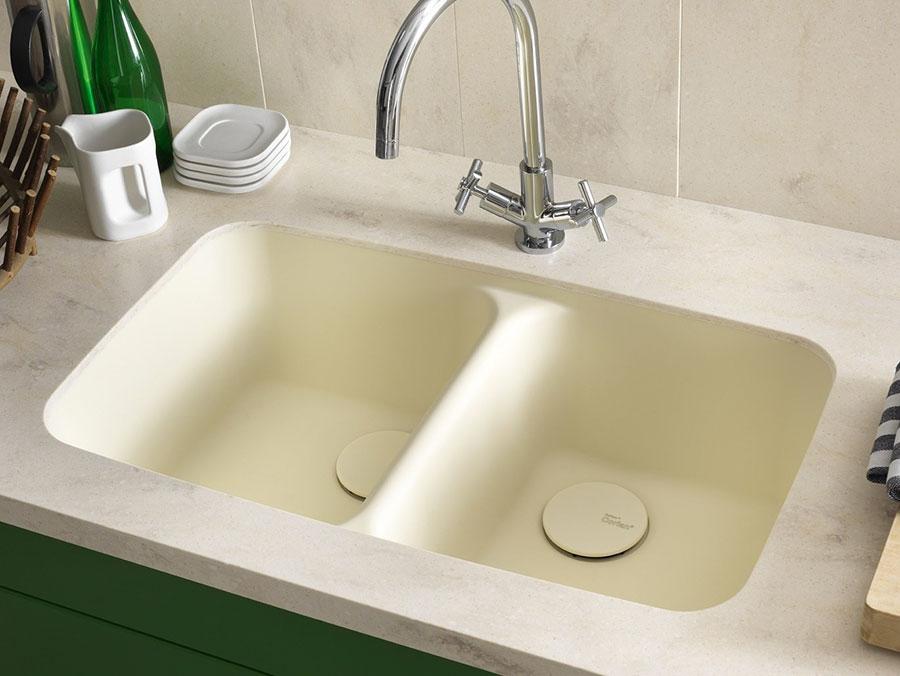 Modello di lavello da cucina in resina 01