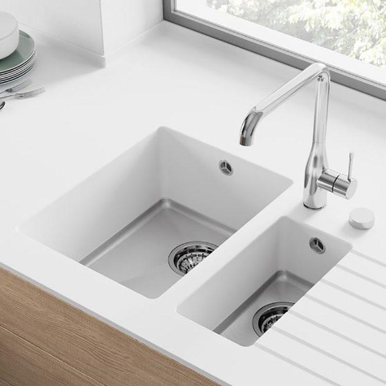 Modello di lavello da cucina in resina 05