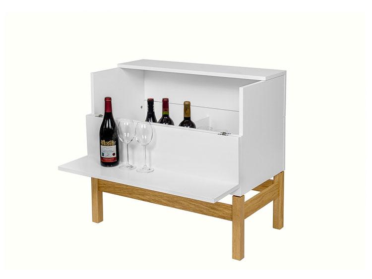 Modello di mobile bar da casa n.43