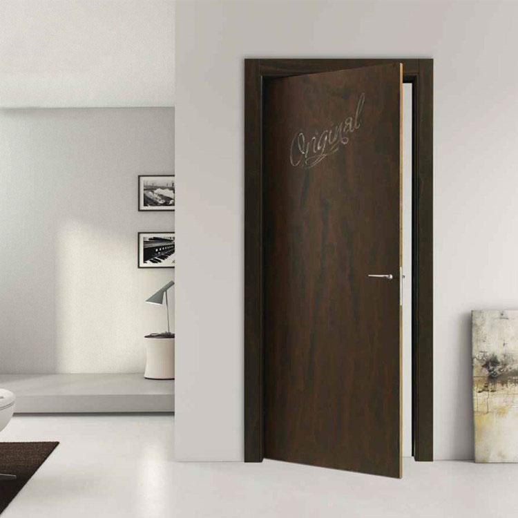 Modello di porta interna moderna in corten n.02