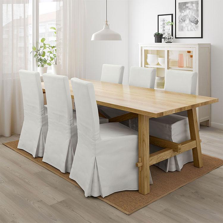 Arredamento per sala da pranzo shabby chic Ikea n.04