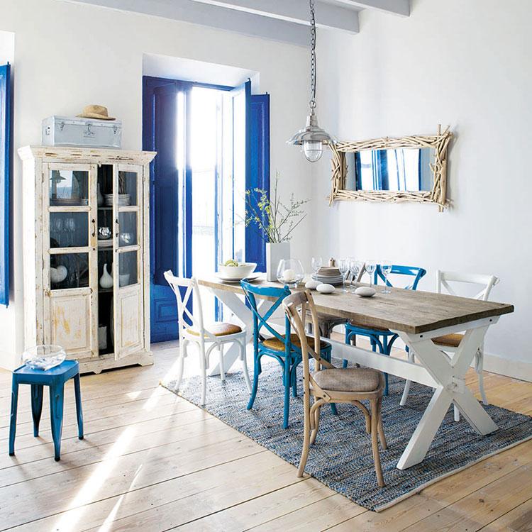 Arredamento per sala da pranzo shabby chic Maisons Du Monde n.01
