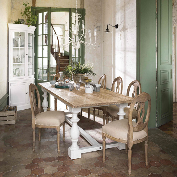 Arredamento per sala da pranzo shabby chic Maisons Du Monde n.03