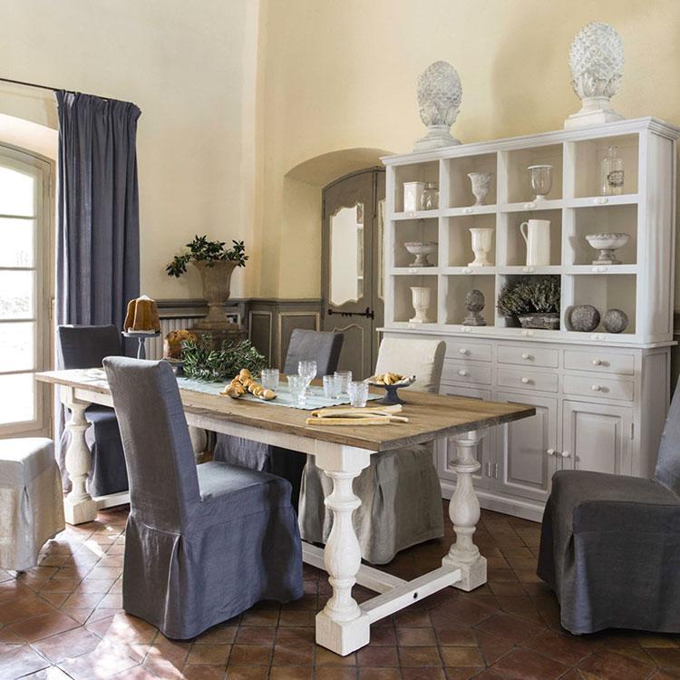 Arredamento per sala da pranzo shabby chic Maisons Du Monde n.04
