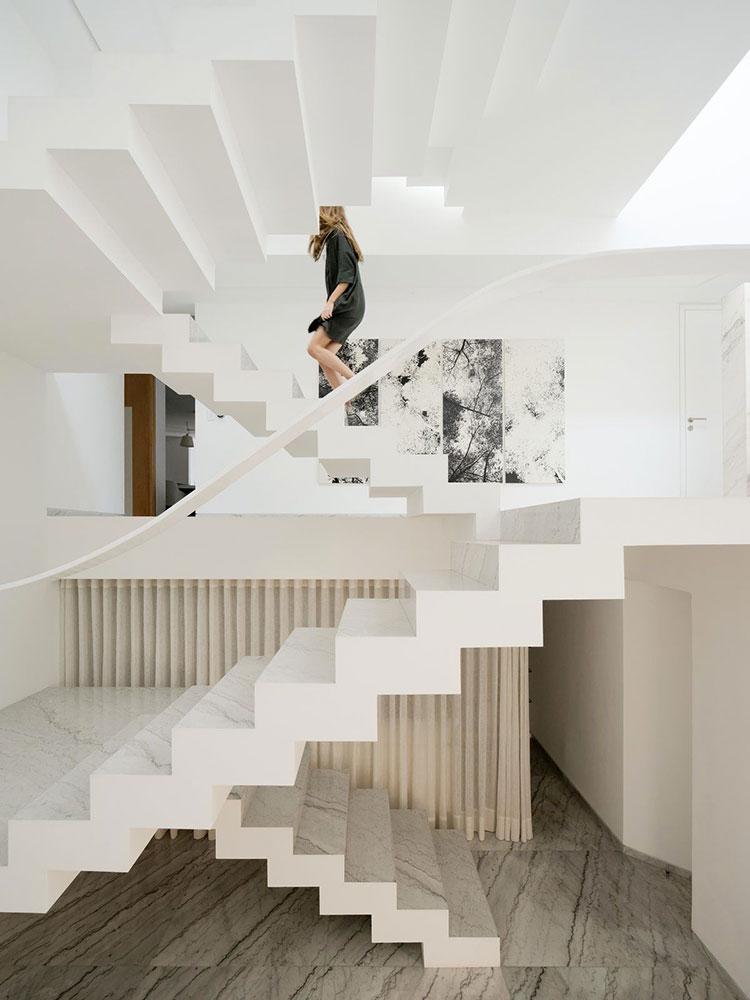 Modello di scale interne in muratura n.01
