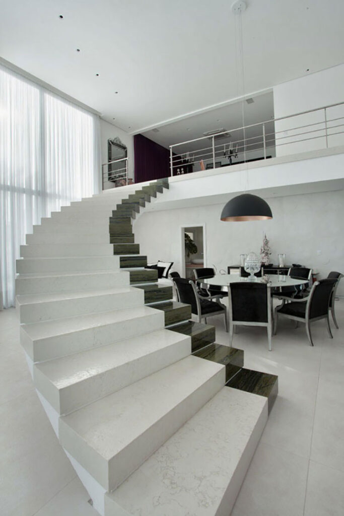 Modello di scale interne in muratura n.02