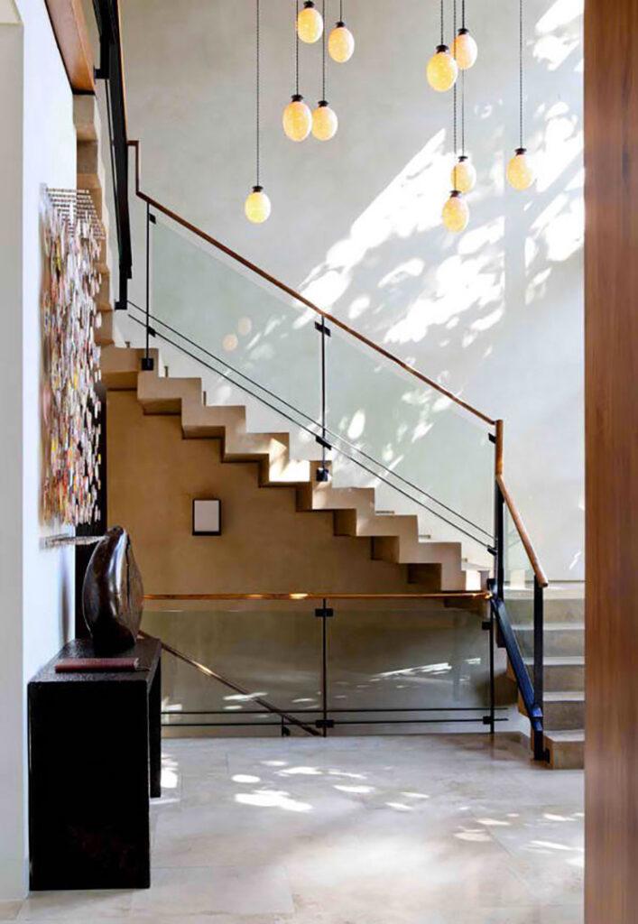 Modello di scale interne in muratura n.03