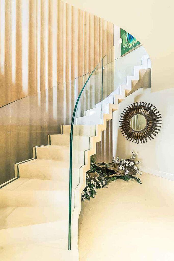 Modello di scale interne in muratura n.04