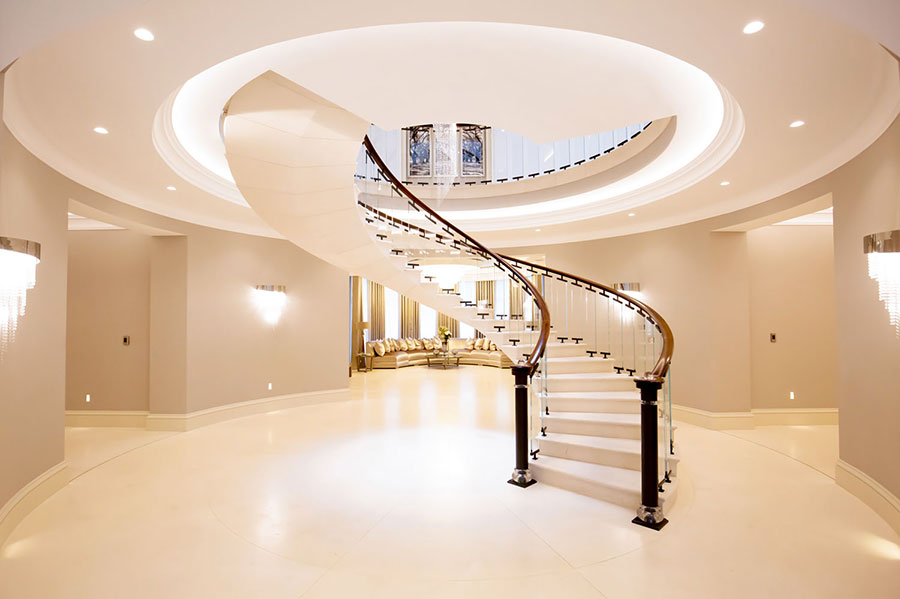 Modello di scale interne in muratura n.05