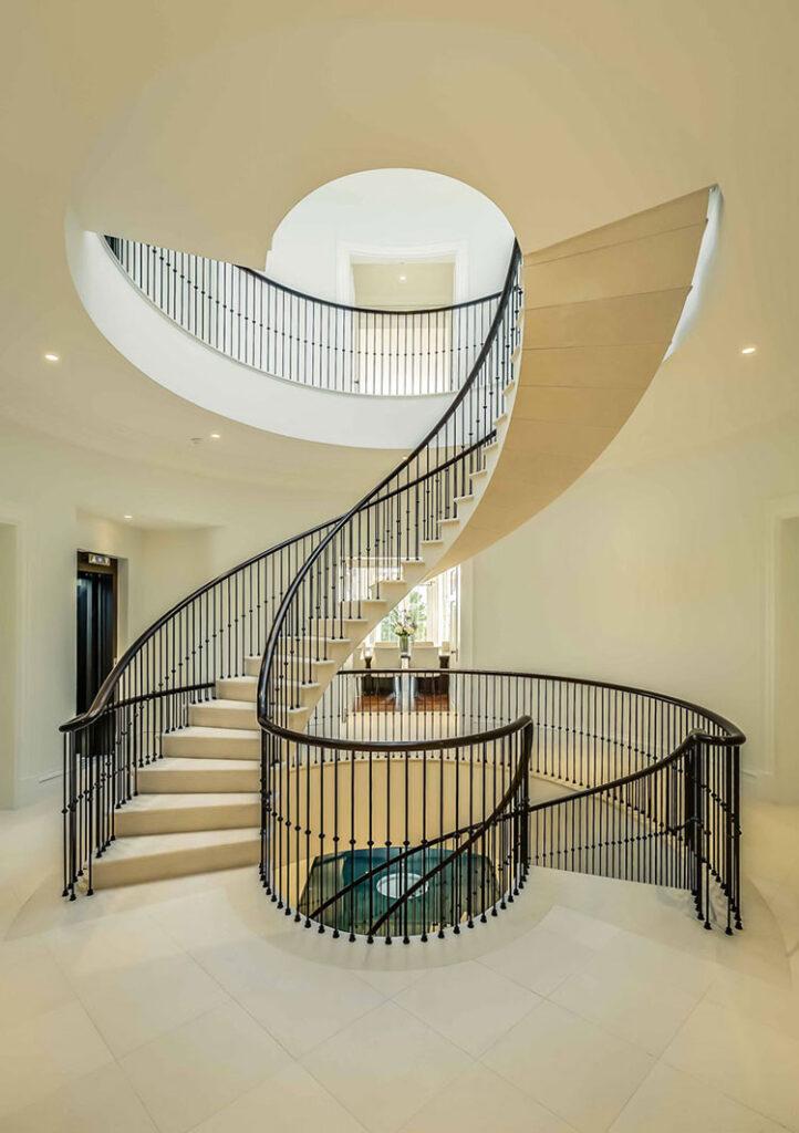 Modello di scale interne in muratura n.07