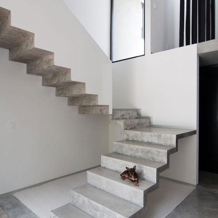 Modello di scale interne in muratura n.10