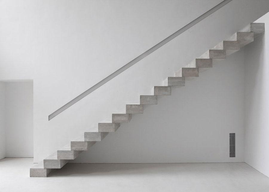 Modello di scale interne in muratura n.11