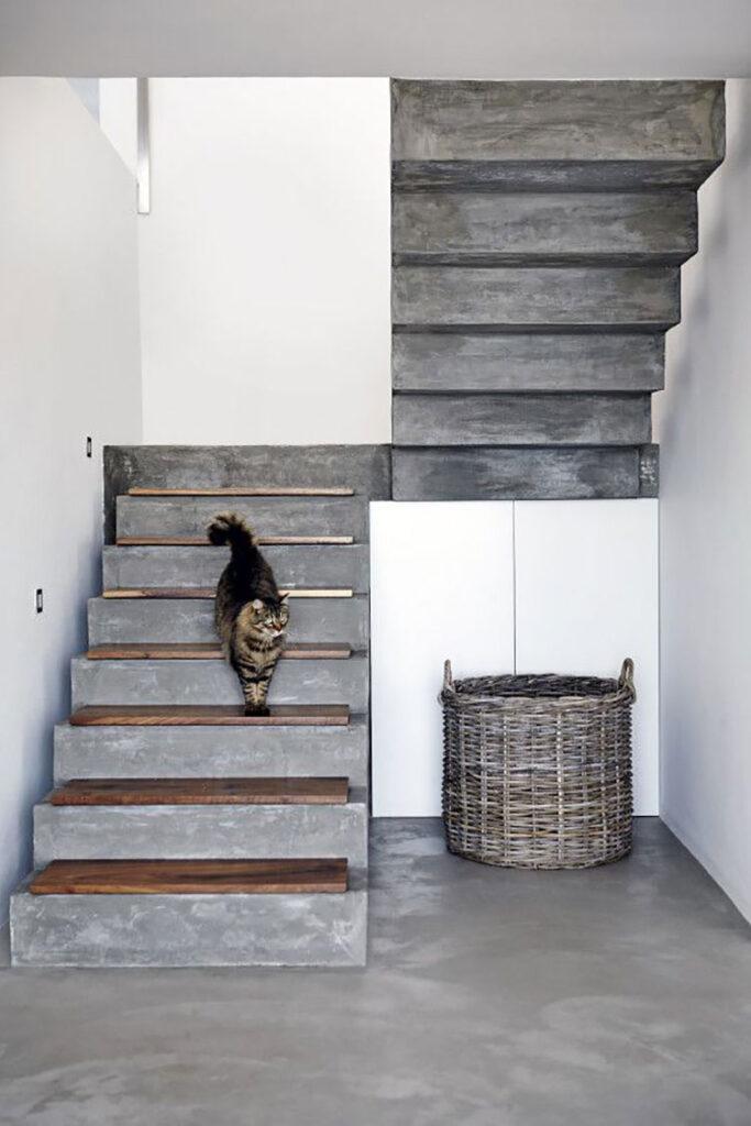 Modello di scale interne in muratura n.12