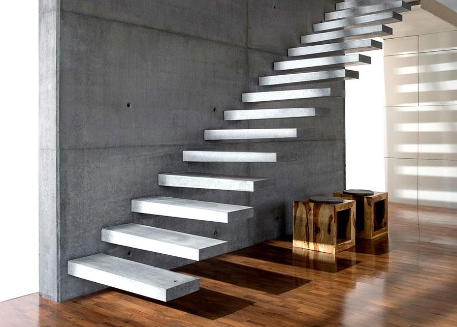 Modello di scale interne in muratura n.13