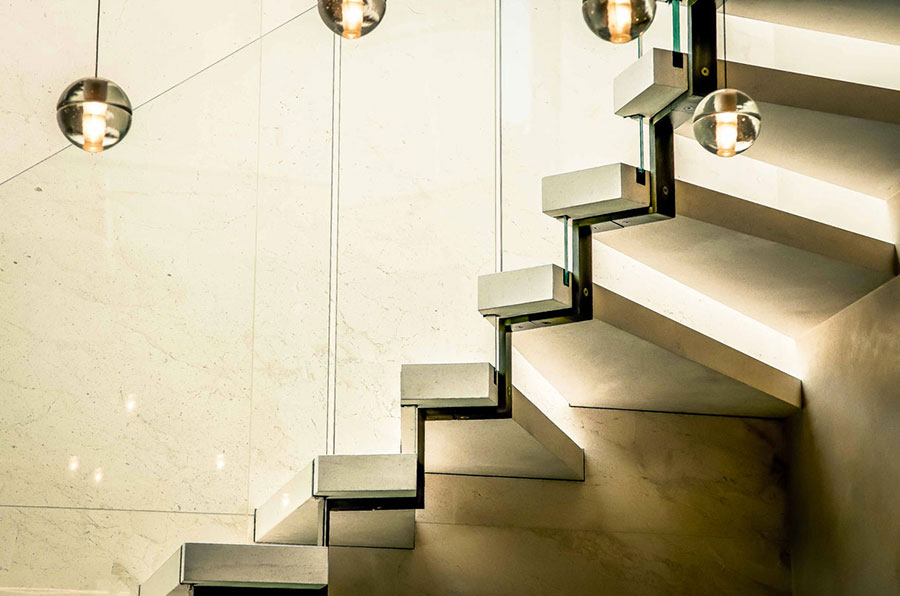 Modello di scale interne in muratura n.14