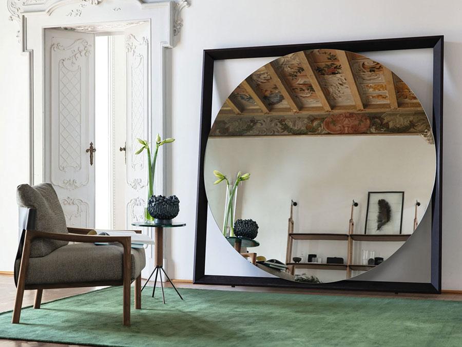Specchio da terra per ingresso di design n.01
