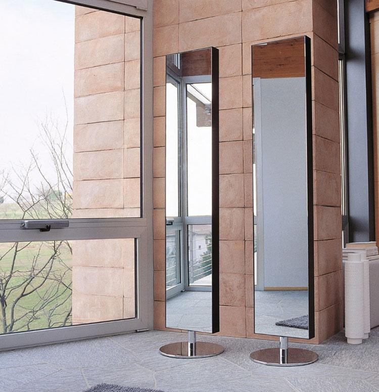 Specchio da terra per ingresso di design n.03