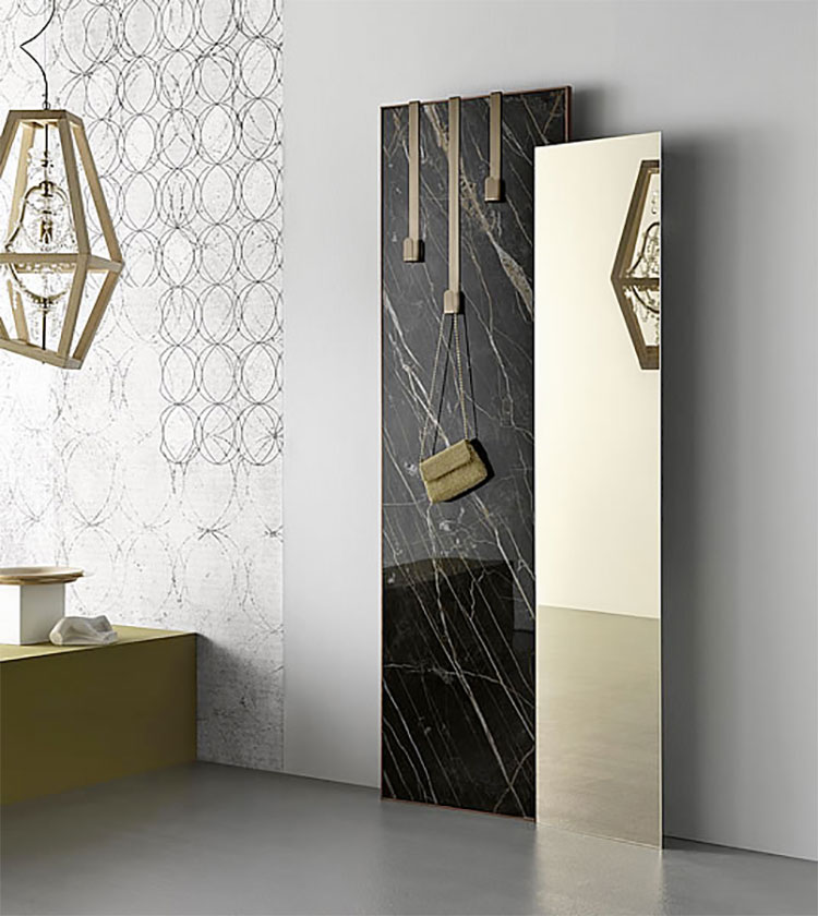 Specchio da terra per ingresso di design n.06