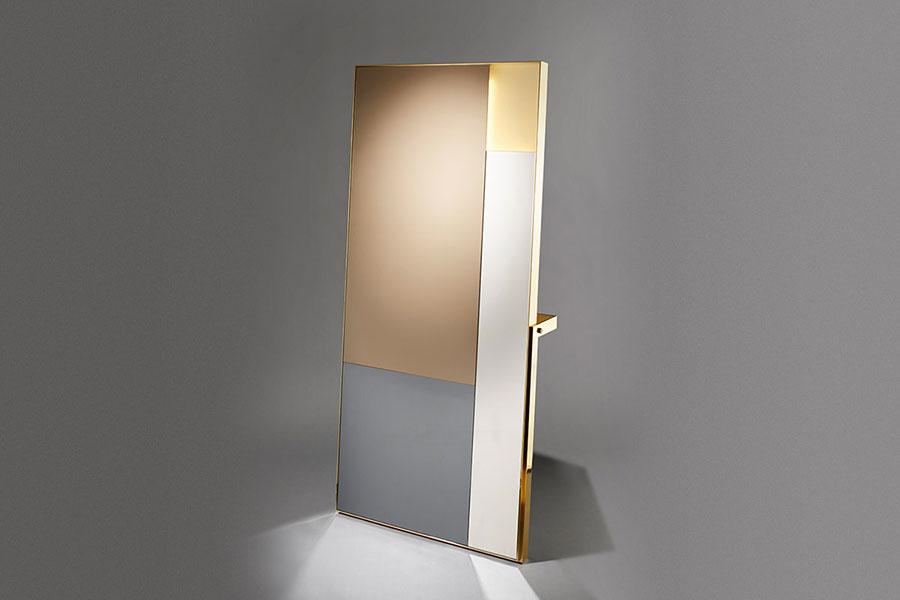 Specchio da terra per ingresso di design n.08