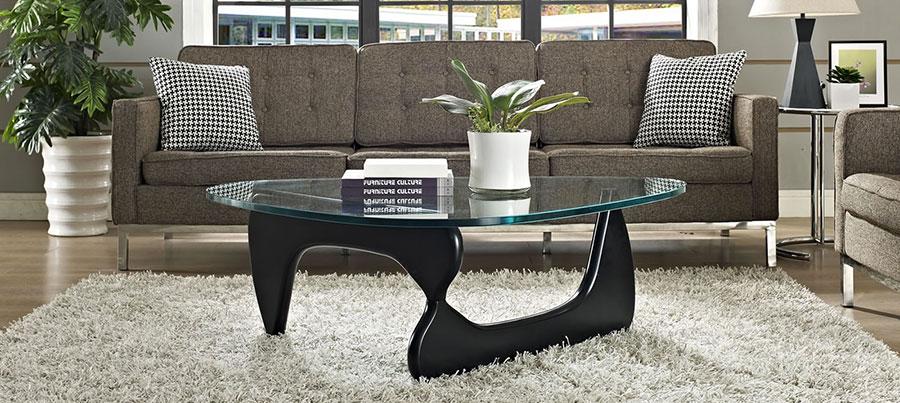 Modello di tavolino da salotto dal design moderno n.01