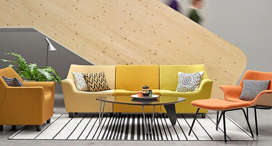 Modello di tavolino da salotto dal design moderno n.03