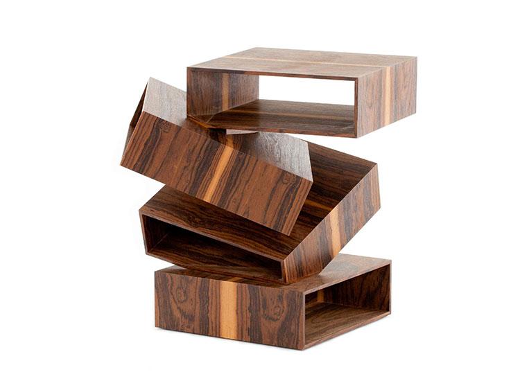 Modello di tavolino da salotto dal design moderno n.04