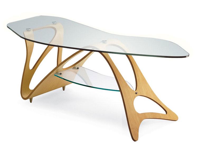 Modello di tavolino da salotto dal design moderno n.06