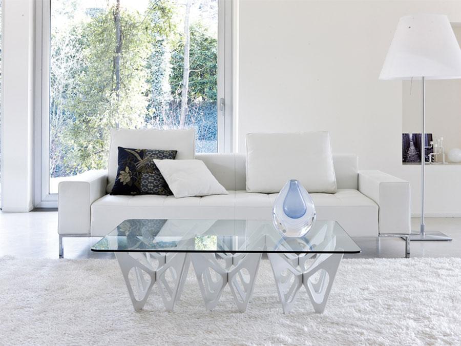 Modello di tavolino da salotto dal design moderno n.07