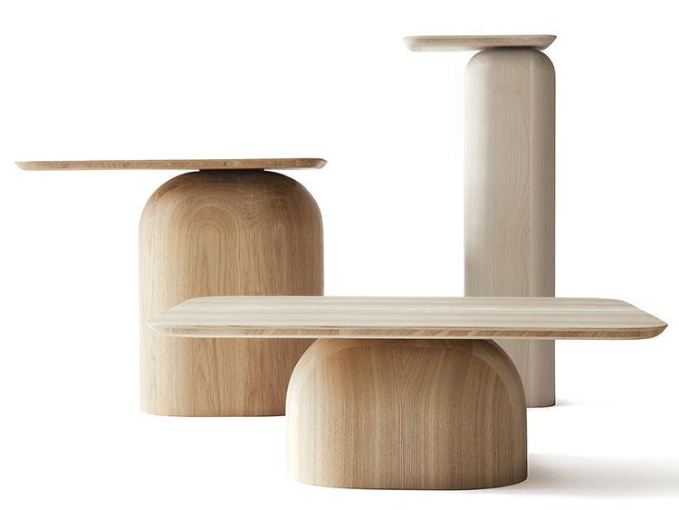 Modello di tavolino da salotto dal design moderno n.08