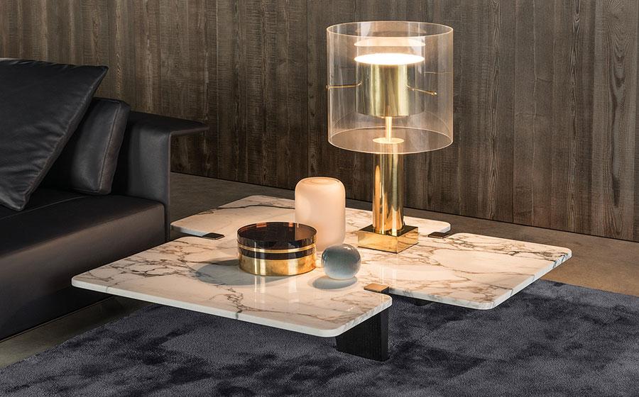 Modello di tavolino da salotto dal design moderno n.10