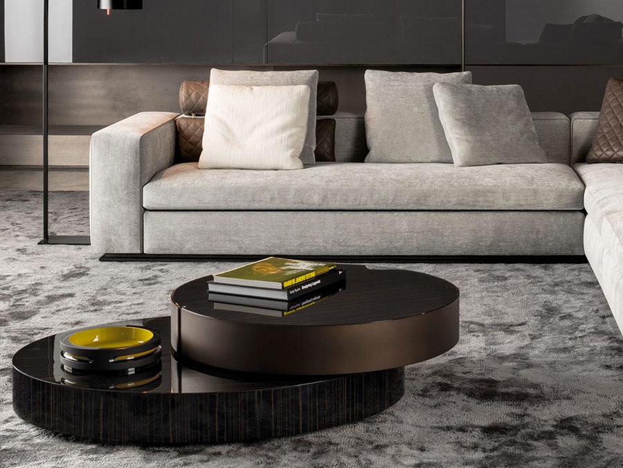 Modello di tavolino da salotto dal design moderno n.11